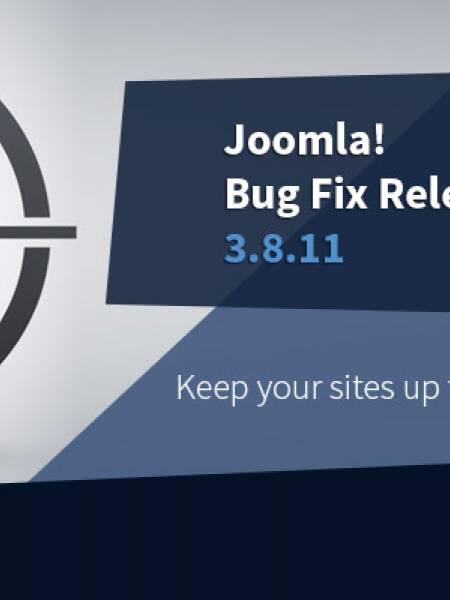 Joomla 3.8.11