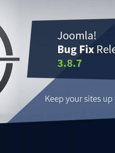 Joomla 3.8.7